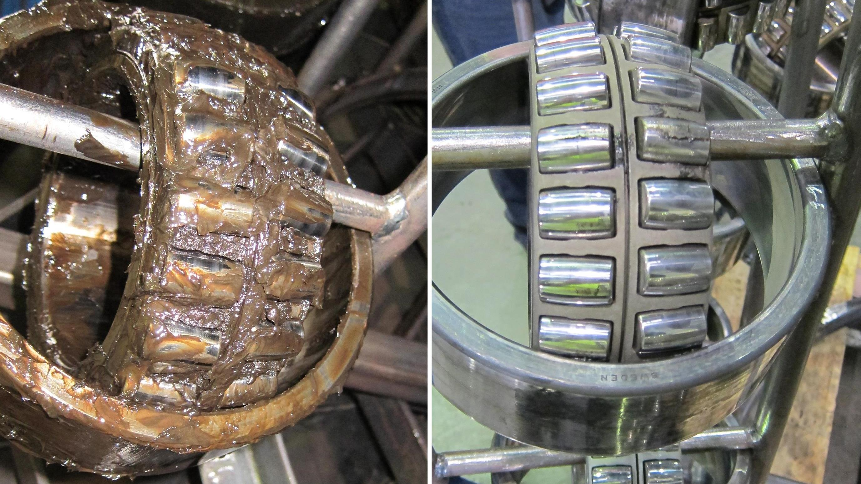 StingRay_Spherical_Rail_Bearing_Before_and_After