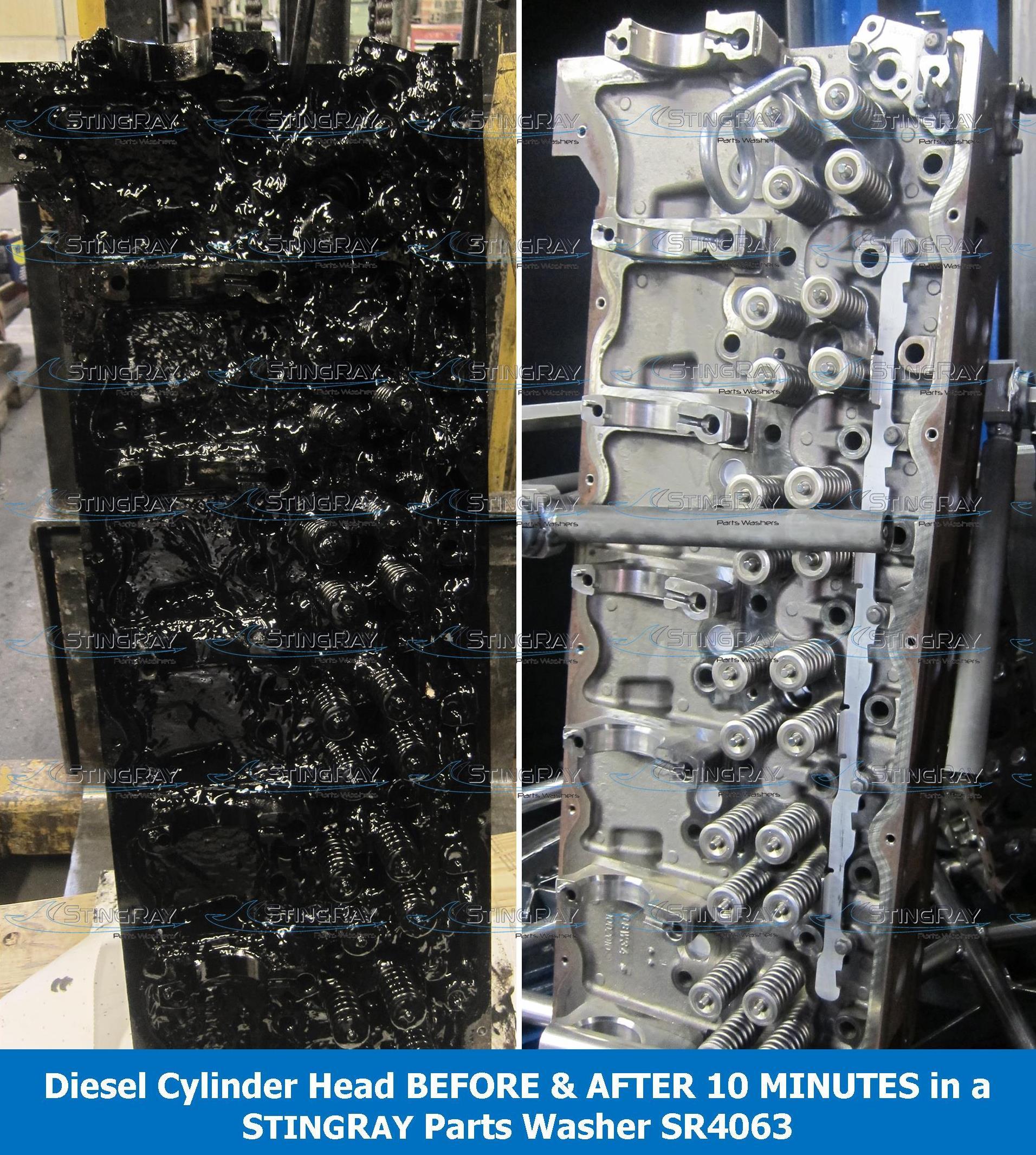 Stingray Parts Washer Aqueous Transmission Parts Washer