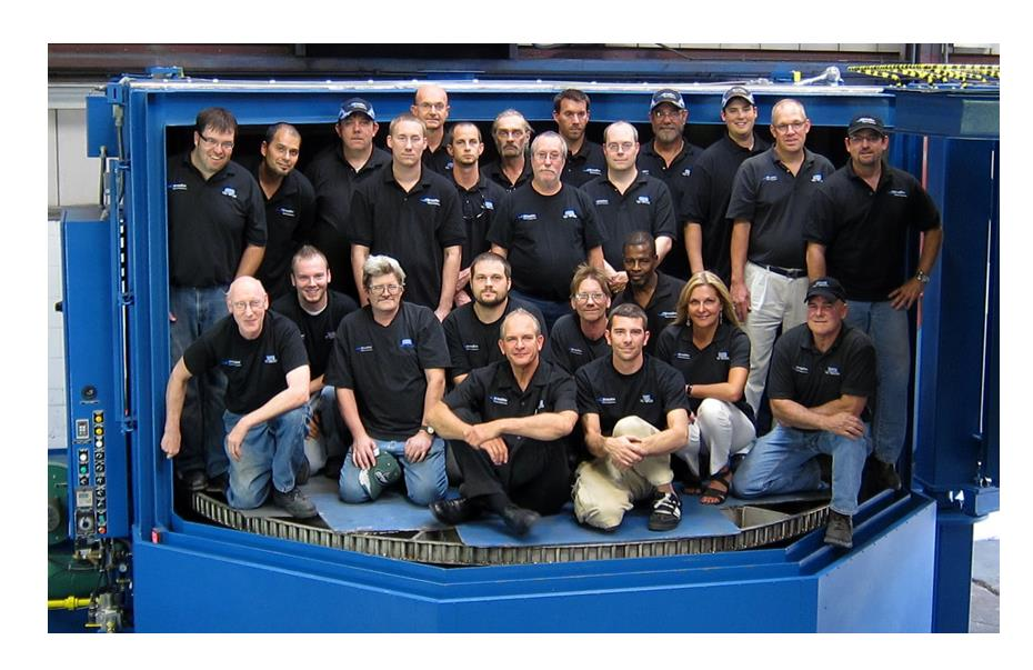 StingRay Parts Washer Team