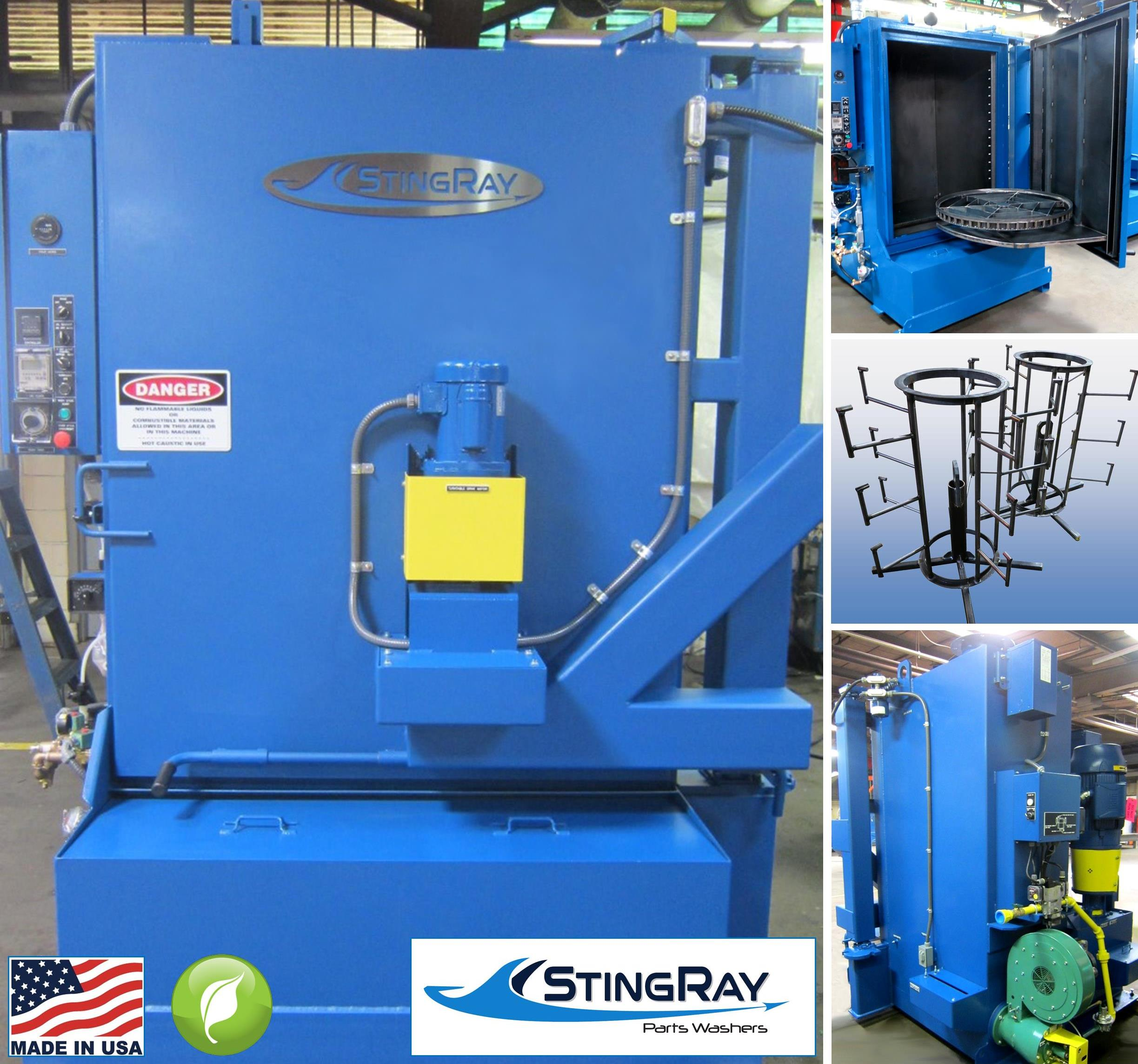 StingRay Rail Bearing Industrial Parts Washer