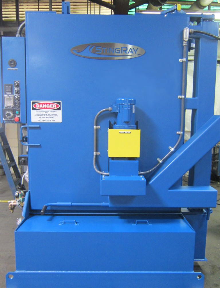 StingRay Industrial Parts Washer for Rail Bearings