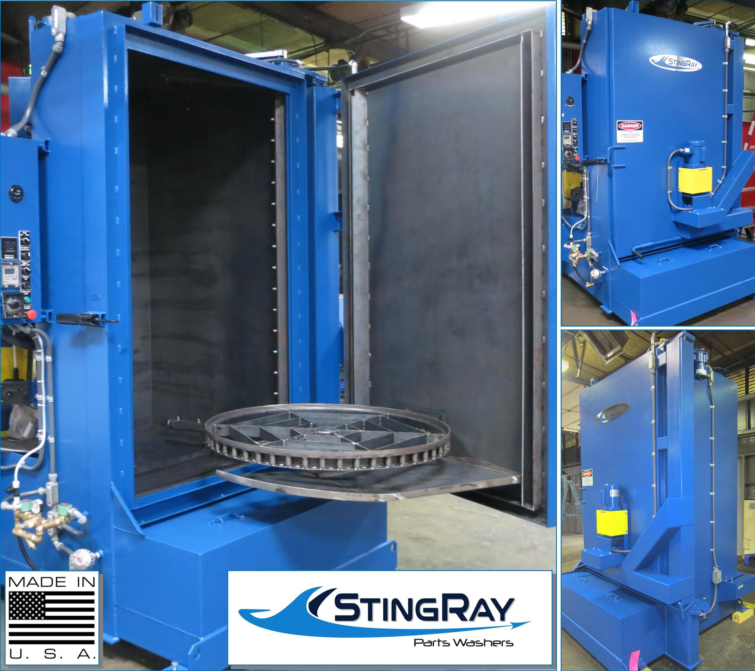 StingRay Industrial Parts Washer SR4063 for Diesel Block Cleaning