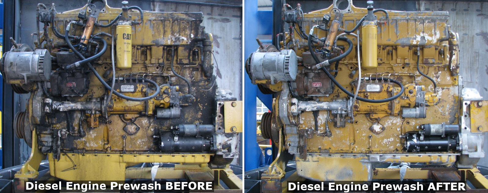 StingRay Parts Washer | Caterpillar Diesel Engine Parts Washer