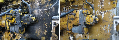 Cat Diesel Engine Fuel System Prewash