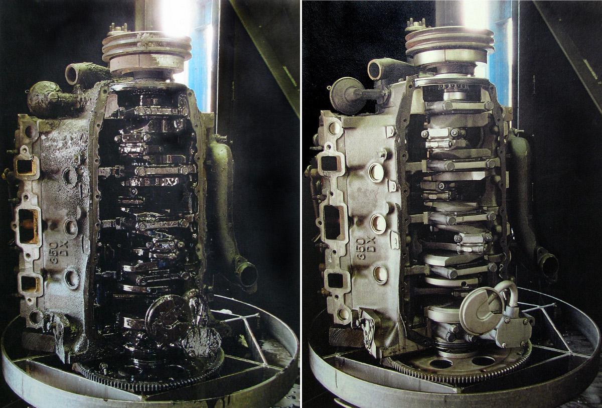 Stingray Parts Washer Caterpillar Diesel Engine Parts Washer