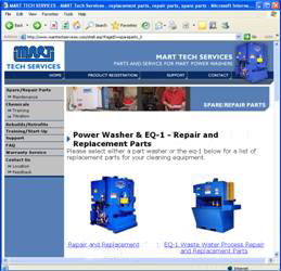 Parts Washer Service