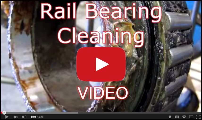 Rail Cleaning Bearing Video