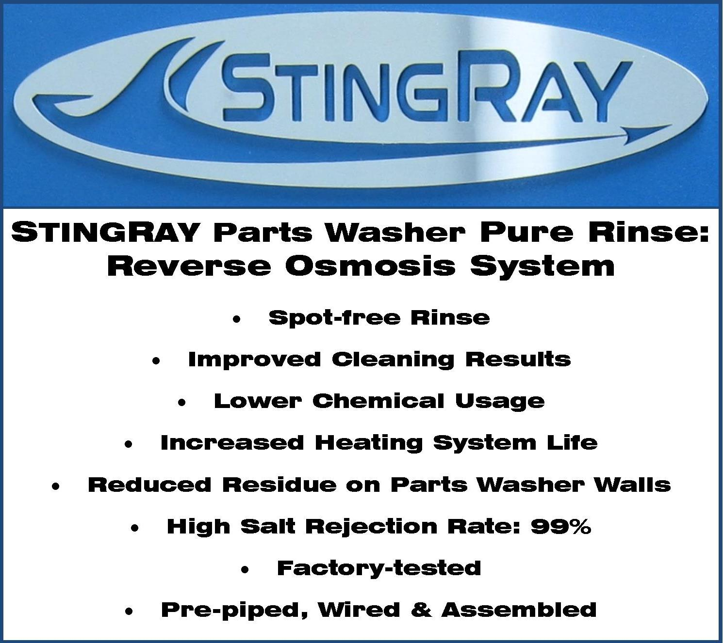 Pure-Rinse-Reverse-Osmosis-System/9-StingRay-Parts-Washer-Reverse-Osmosis-Features-Benefits