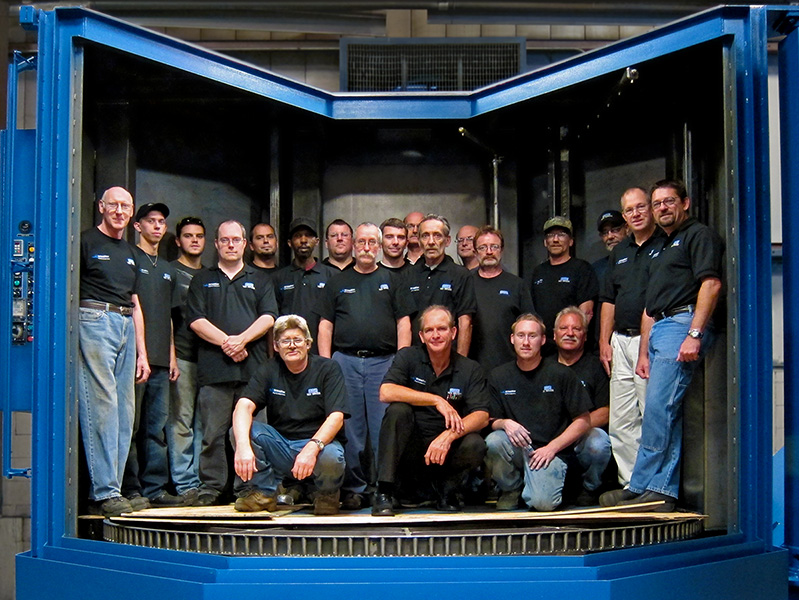 Parts Washer Construction Team