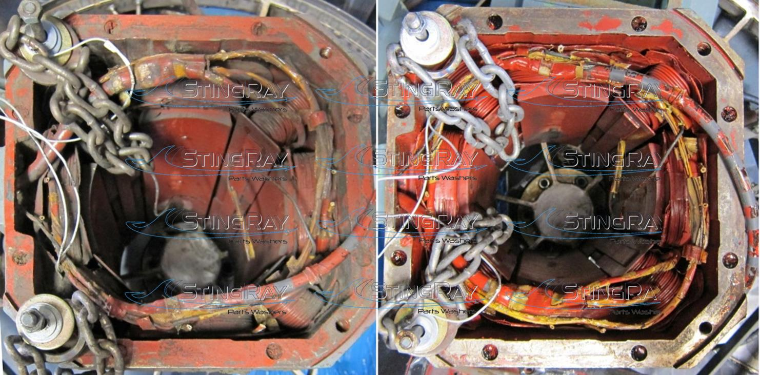 StingRay Electric Motor Cleaning Results