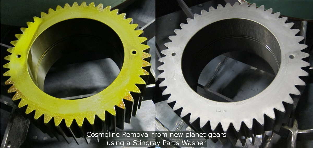 Cosmoline Removal