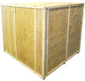Wooden Parts Washer Crate