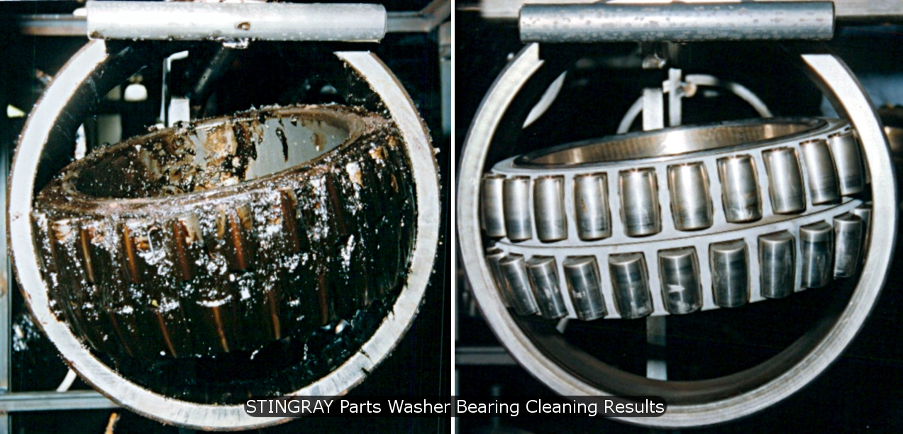 Stingray Parts Washer Aqueous Bearing Parts Cleaning Machine