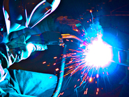 Welding at StingRay